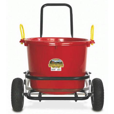Little Giant All-Purpose Two-Wheel Muck Cart - Pneumatic Tires