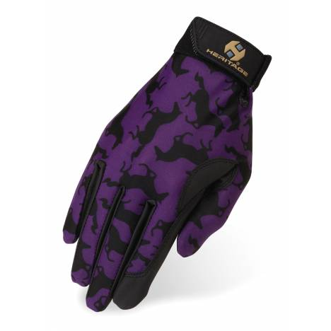 Heritage Kids Performance Gloves Prints - Gallop