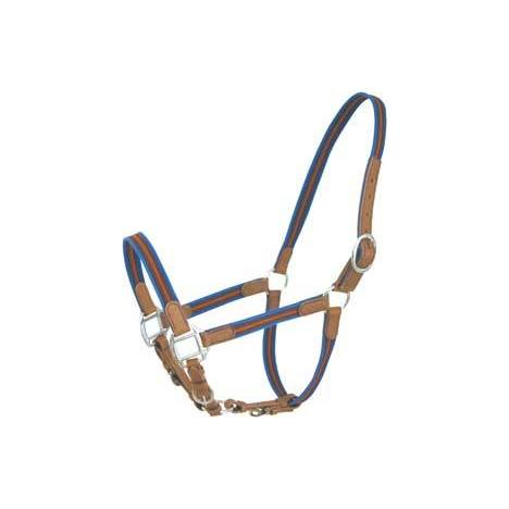 Abetta 3-Way Adjustable Halter with Leather Trim