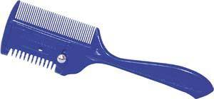 Abetta Thinning Comb with Fine Teeth and Razor Thinning Blade for Horse Grooming