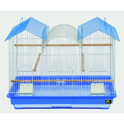 Prevue Hendryx Triple Roof Cage - Assorted - 26 X 14 X 22