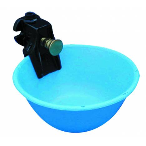 Waterbowl with Push Button Valve