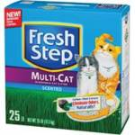 Fresh Step Multiple Cat Litter - Scented