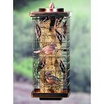 Caged Tube Squirrel-Resistant Feeder