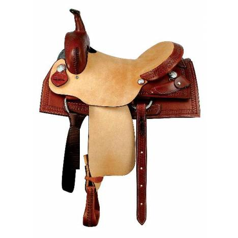 Dakota Saddlery Hardseat Cutter Saddle