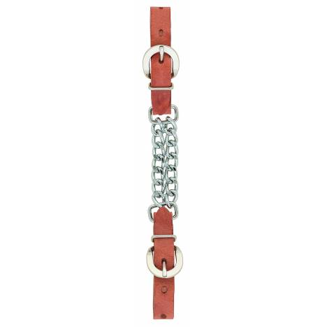 Weaver Double Flat Link Chain Curb Strap