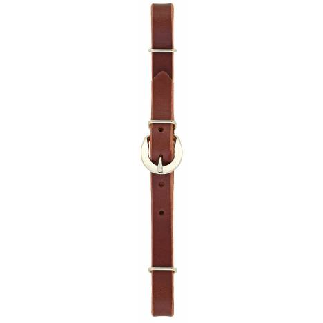Weaver Straight Bridle Leather Curb Strap