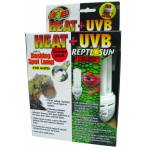 Zoo Med Heat & Uv Light Combo Pack