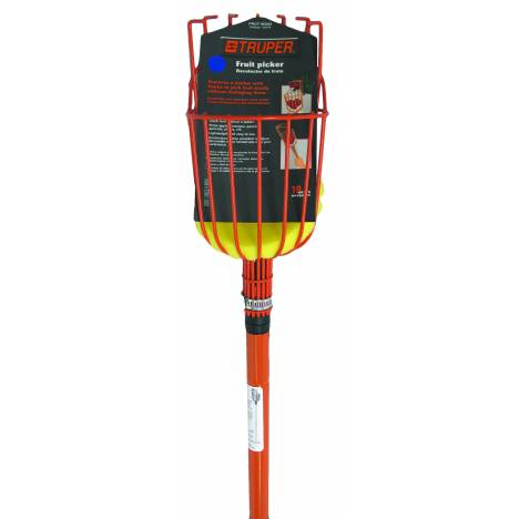 Truper Fruit Picker with telescoping handle