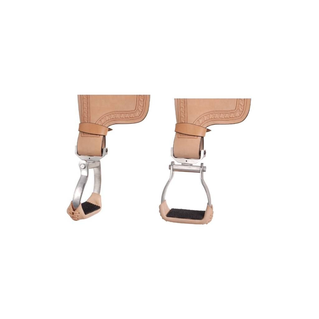 Aluminum Swivel and Lock Stirrup