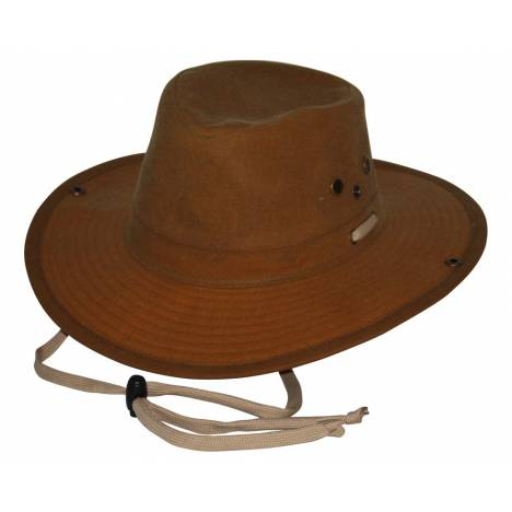 Outback Oilskin River Guide Hat