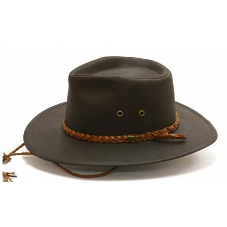 Outback Oilskin Grizzly Hat