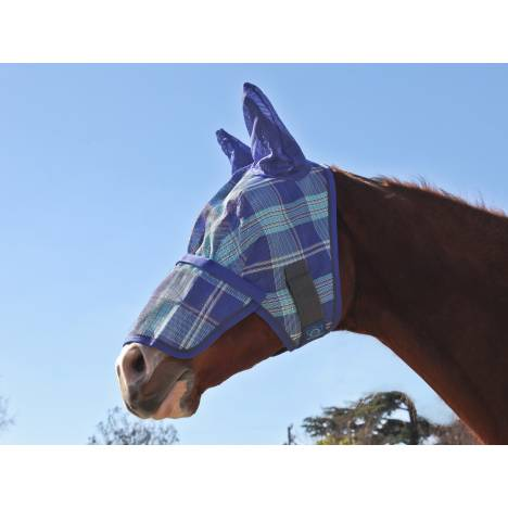 Kensington Protective Fly Mask with Nose Piece & Ears - Draft