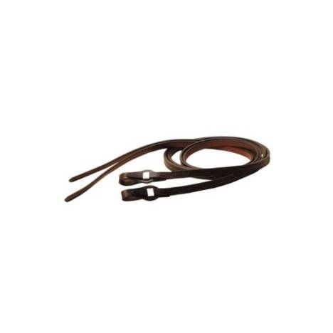 TORY LEATHER Quick Change Partial Double & Stitched Split Reins