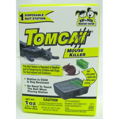 TOMCAT Disposable Mouse Killer