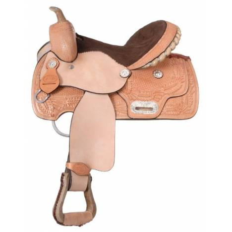 King Series Competition/Trail Barrel Saddle Package