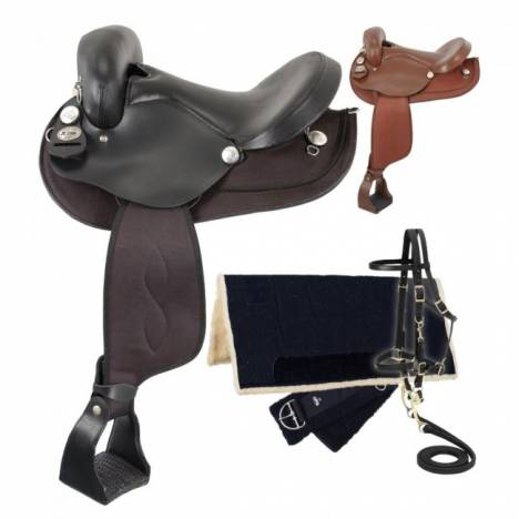 Eclipse by Tough-1 Endurance Saddle Package - 5 Pieces