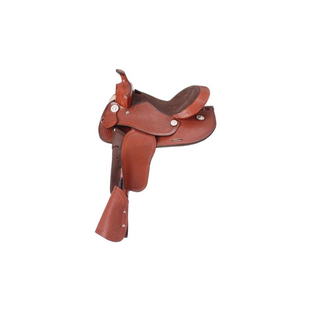 King Series Jr Showman Youth Saddle Package