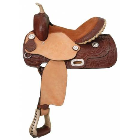 King Series Premium All Around Competition Saddle Package