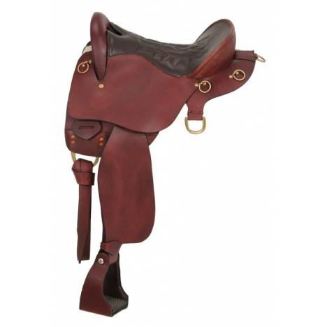King Series Trekker Endurance Saddle Package with o Horn