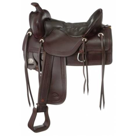 King Series Old Time Trail Saddle Package with Square Skirt