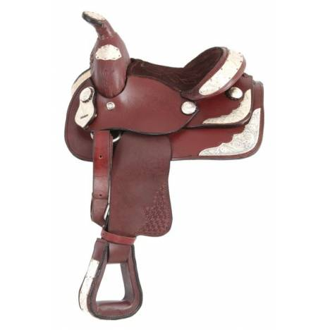King Series Miniature Silver Show Saddle Package