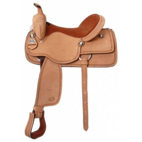 King Series Bob Cat Competition Roughout Trail Saddle Package