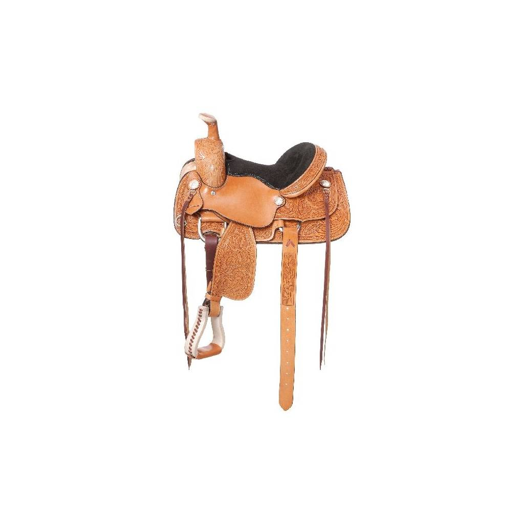 Royal King Lone Star Youth Roper Saddle