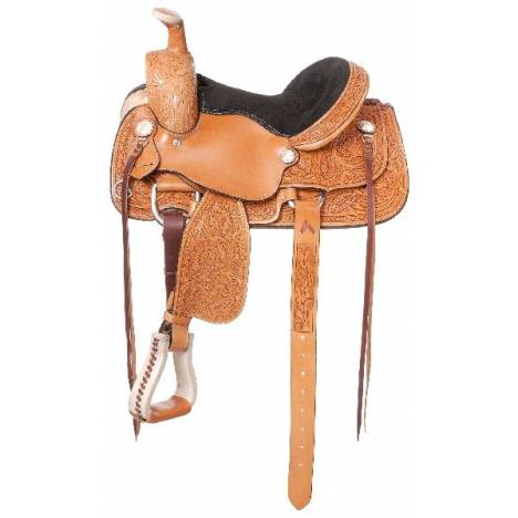 Royal King Lone Star Youth Roper Saddle Package