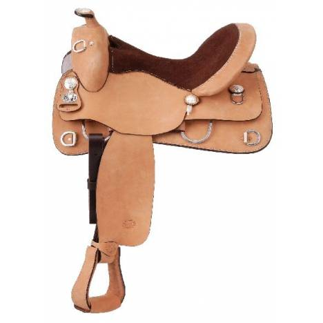 Royal King Rough Out Suede Seat Saddle Package