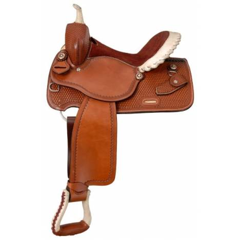 Silver Royal Premium Stetson Barrel Saddle Package
