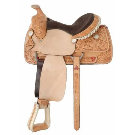 Silver Royal Kendall Roper Half Breed Saddle Package