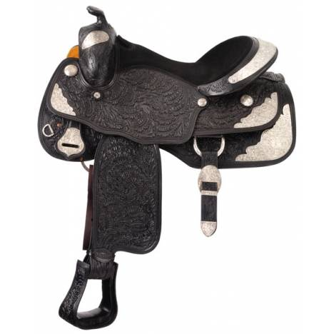 Silver Royal Royal Oak Youth Show Saddle Package with Silver