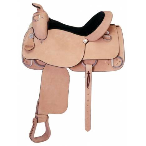 Silver Royal Training Roughout Saddle Package