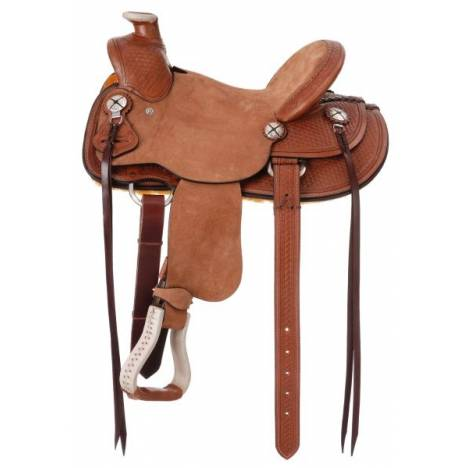 Silver Royal Wylie Kid Wade Youth Saddle