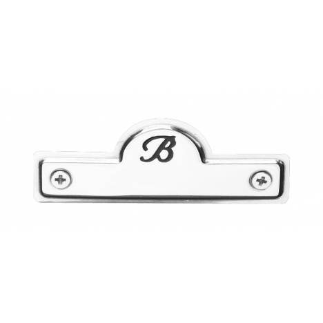 Bates Name Plate Silver One Size