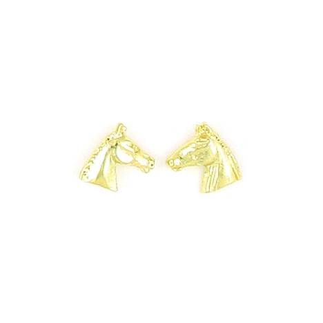 Finishing Touch Profile Horse Head with Bridle Earrings