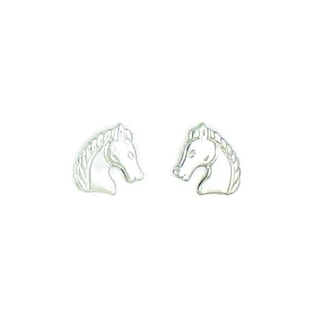 Finishing Touch Regal Horse Head Earrings