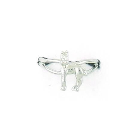 Finishing Touch Horse with Turned Head Adjustable Ring