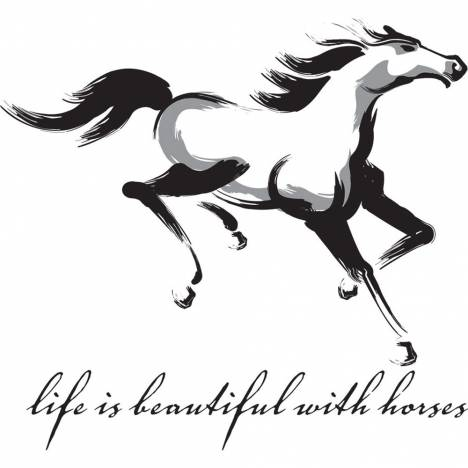 Sound Equine Ladies Tee Shirt Life Is Beautiful