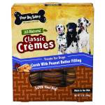 Three Dog Bakery Classic Cremes Carob Cookies