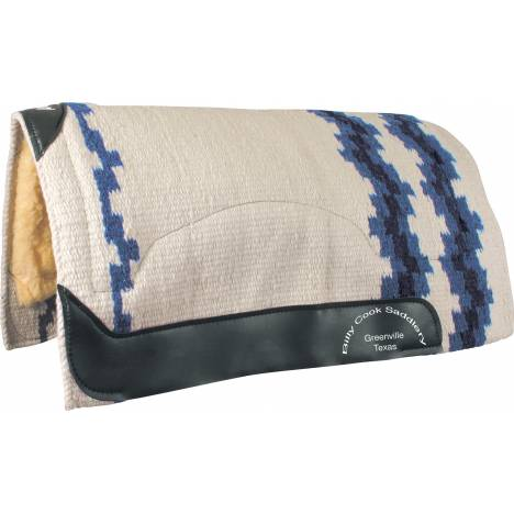 Billy Cook Saddlery Wool Top Show Pad