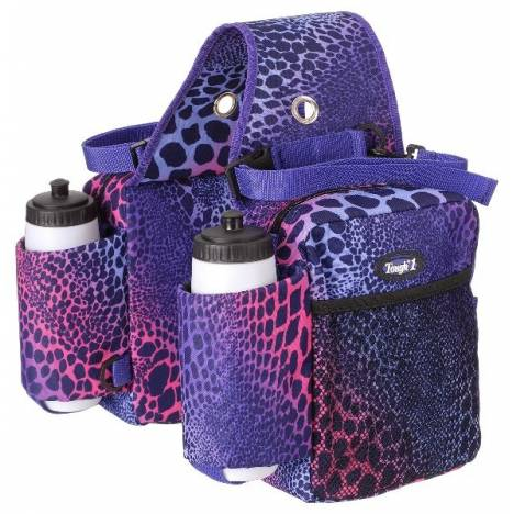 Tough-1 Saddle Bag/Bottle Holder/Gear Carrier in Prints