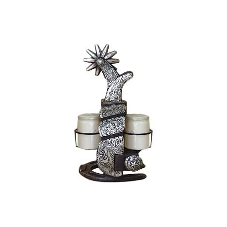 Gift Corral Spur Salt & Pepper Set