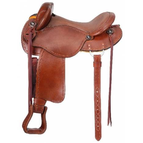 King Series Brisbane Trail Saddle Package with o Horn