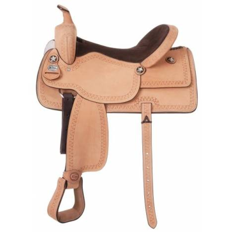 King Series Cowboy Roughout Saddle Package
