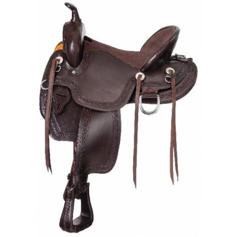 King Series Mesquite Mule Saddle Package