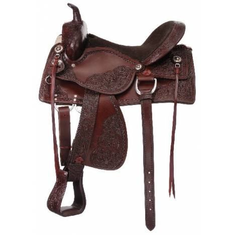 Kelly Silver Star Jacksonville Trail Saddle Package