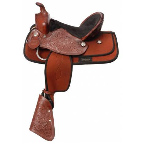 King Series Blaze Synthetic Pony Saddle Package