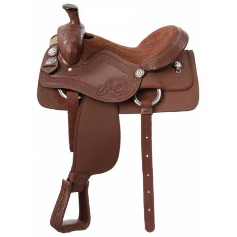 King Series Synthetic King Roper Saddle Package